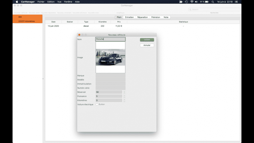 CarManager for Mac - review, screenshots