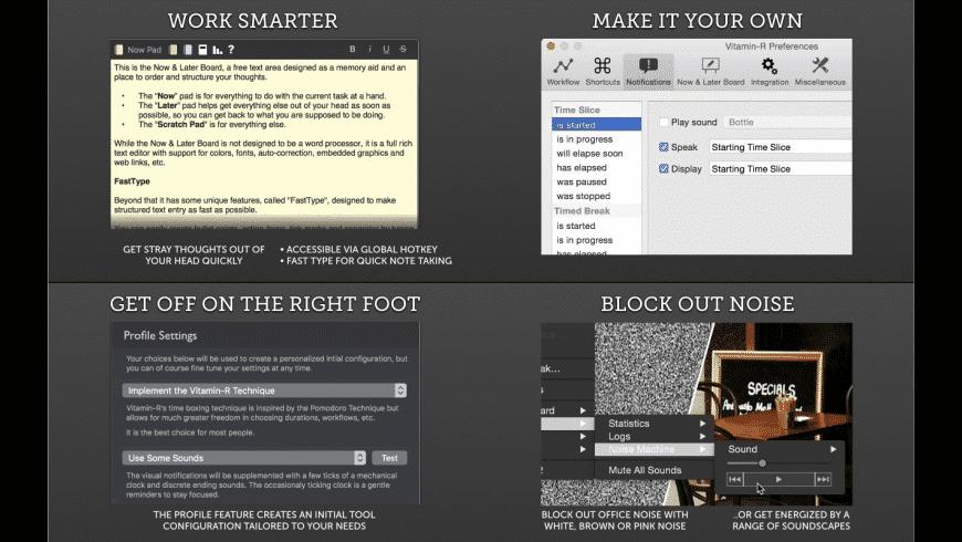 Vitamin-R for Mac - review, screenshots