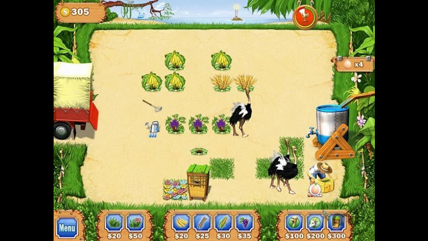 Tropical Farm for Mac - review, screenshots