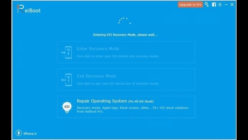 ReiBoot for Mac - review, screenshots