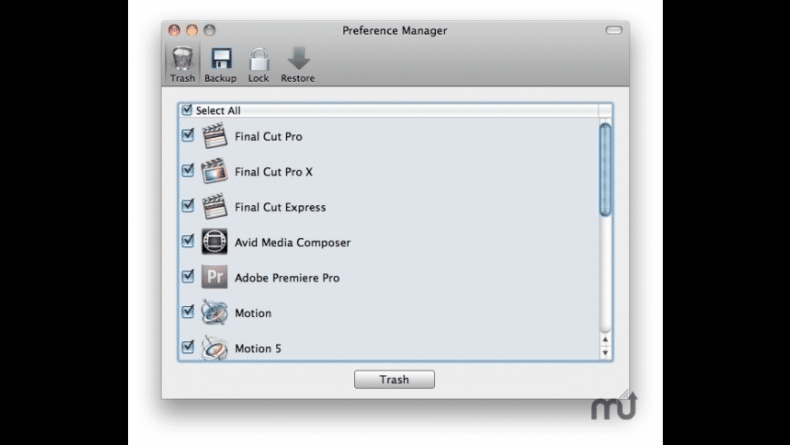 Preference Manager for Mac - review, screenshots