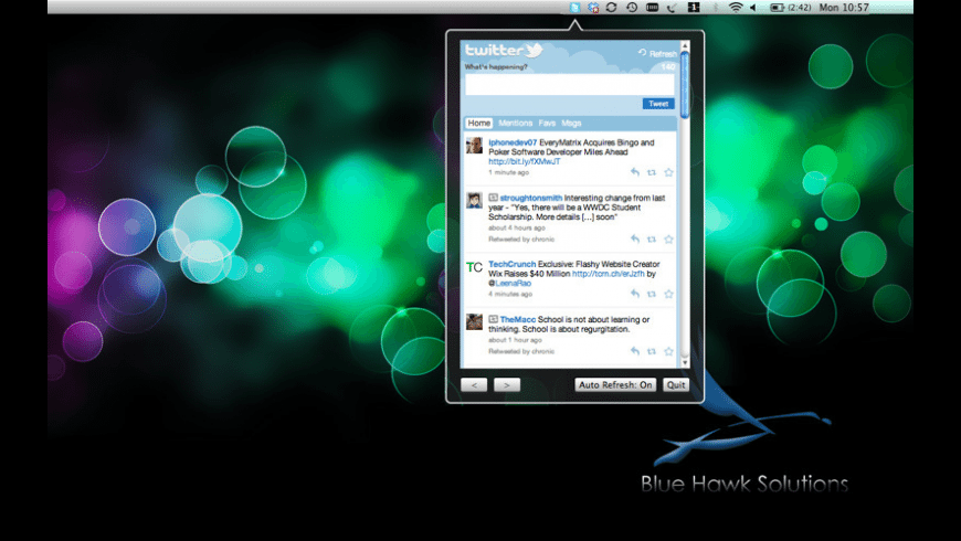 Desktop Tweets for Mac - review, screenshots