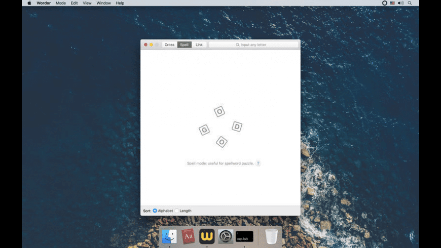 Wordor for Mac - review, screenshots