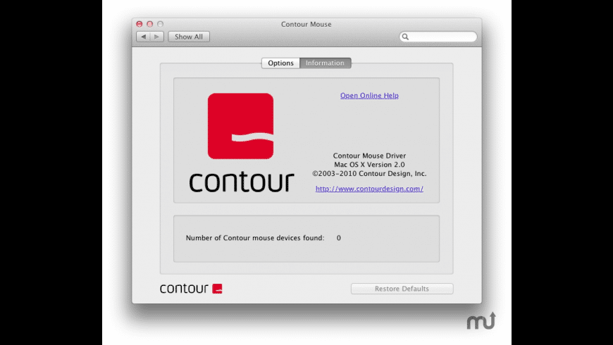 Contour Mouse for Mac - review, screenshots