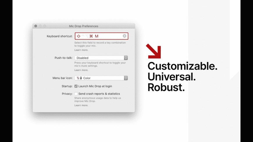 Mic Drop for Mac - review, screenshots