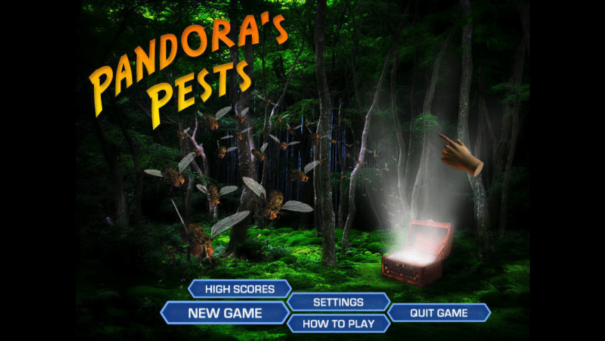 Pandora's Pests for Mac - review, screenshots