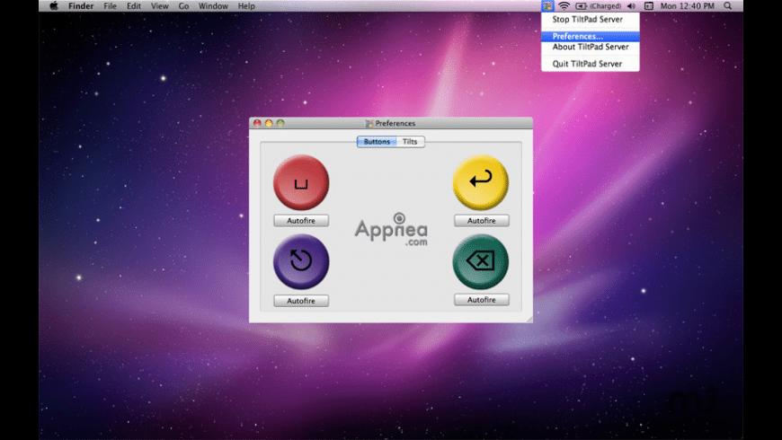 TiltPad for Mac - review, screenshots