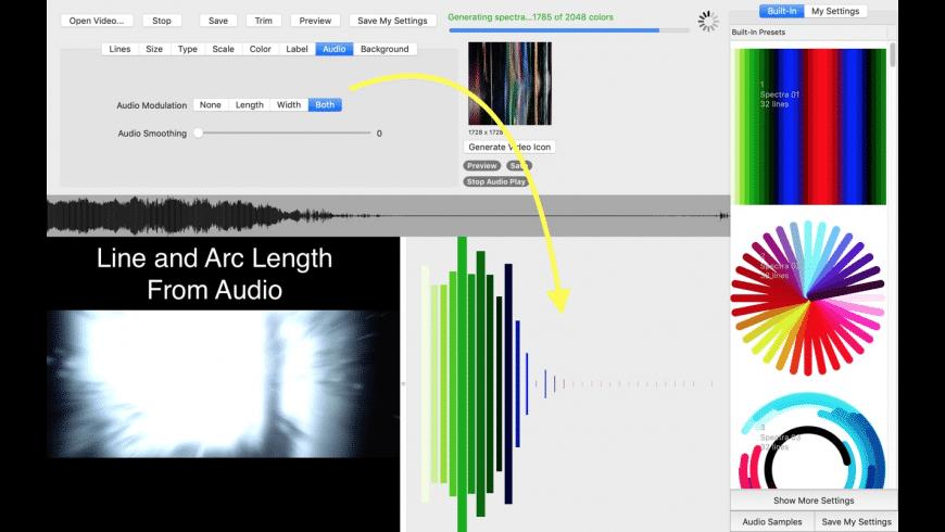Spectra for Mac - review, screenshots