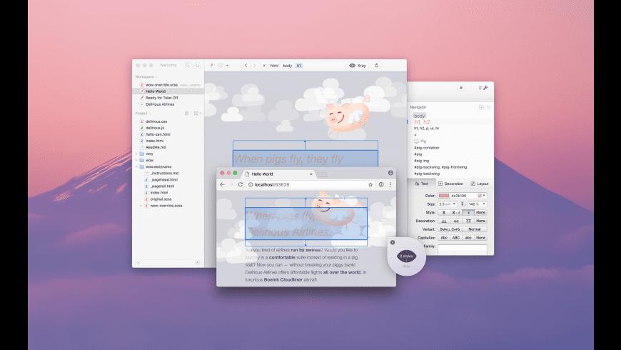 Espresso for Mac - review, screenshots