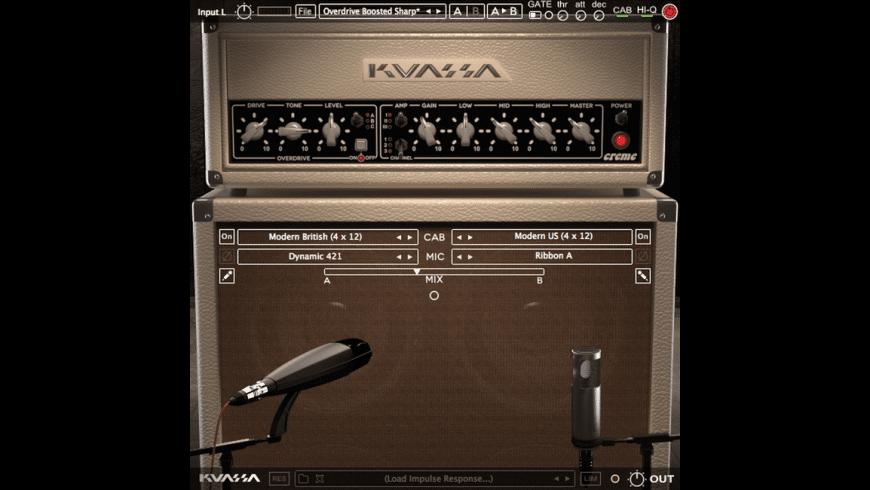 Kuassa Amplifikation Creme for Mac - review, screenshots