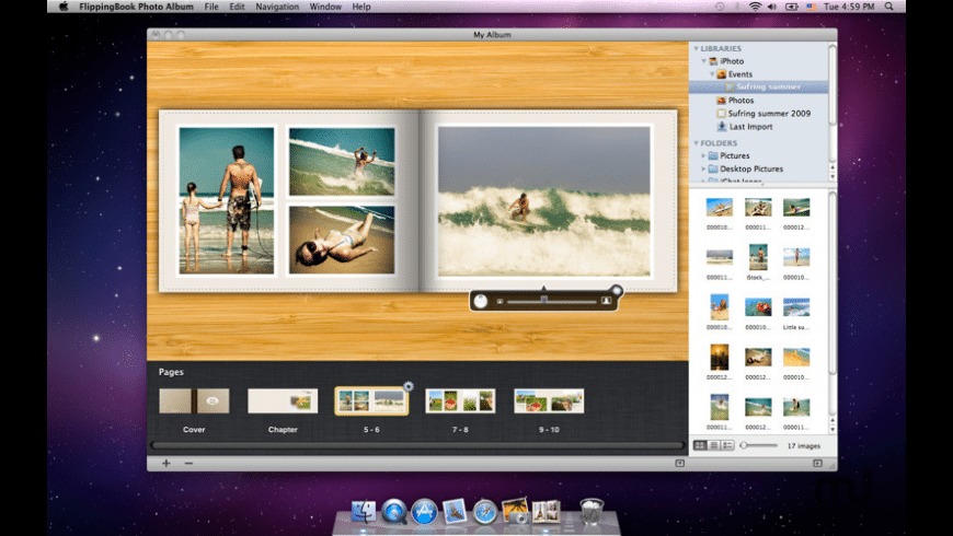 FlippingBook Photo Album for Mac - review, screenshots