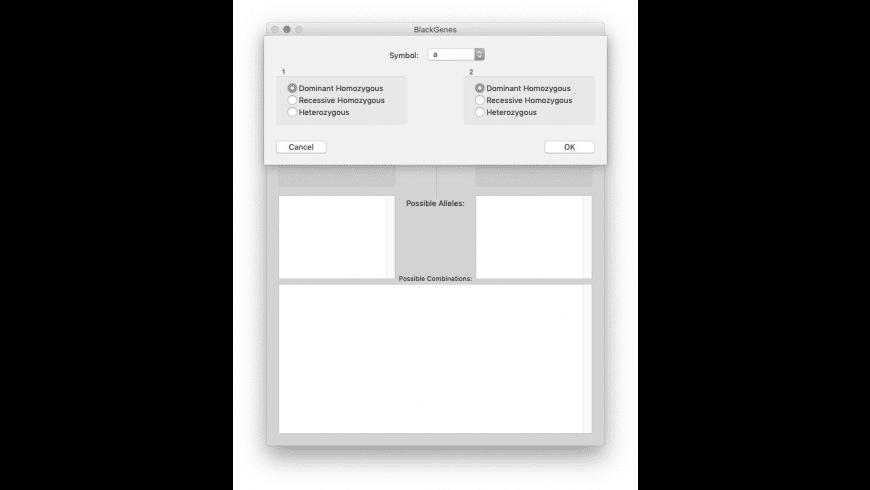 BlackGenes for Mac - review, screenshots