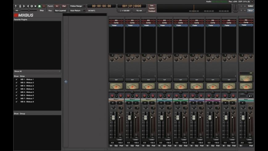 Mixbus for Mac - review, screenshots
