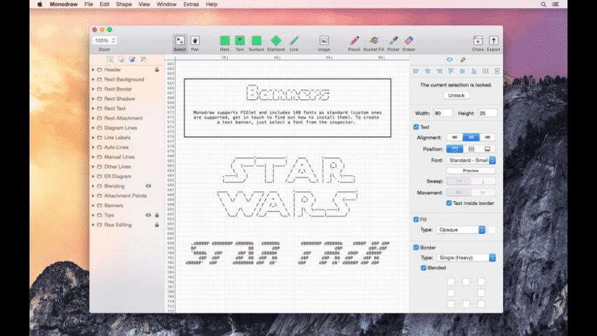 Monodraw for Mac - review, screenshots