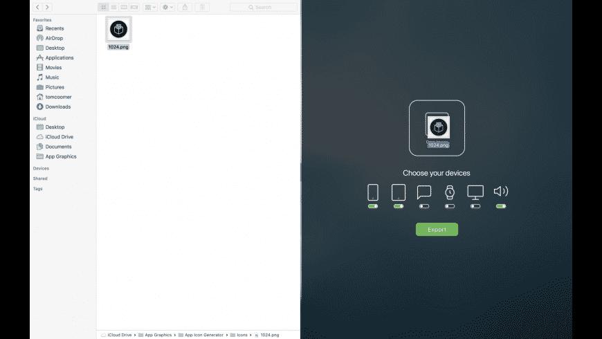 App Icon Generator for Mac - review, screenshots