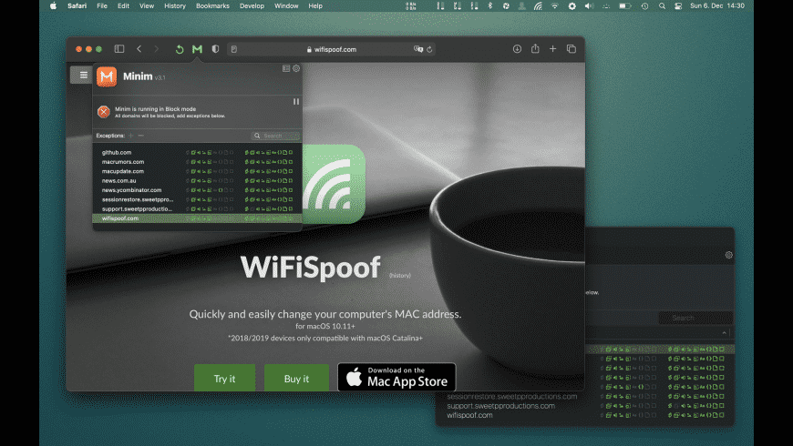 Minim for Mac - review, screenshots