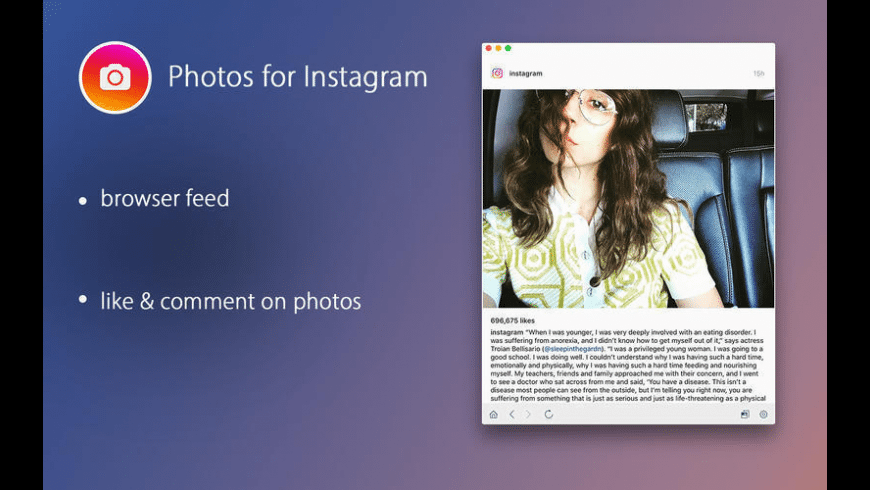 PhotoFeed for Instagram for Mac - review, screenshots