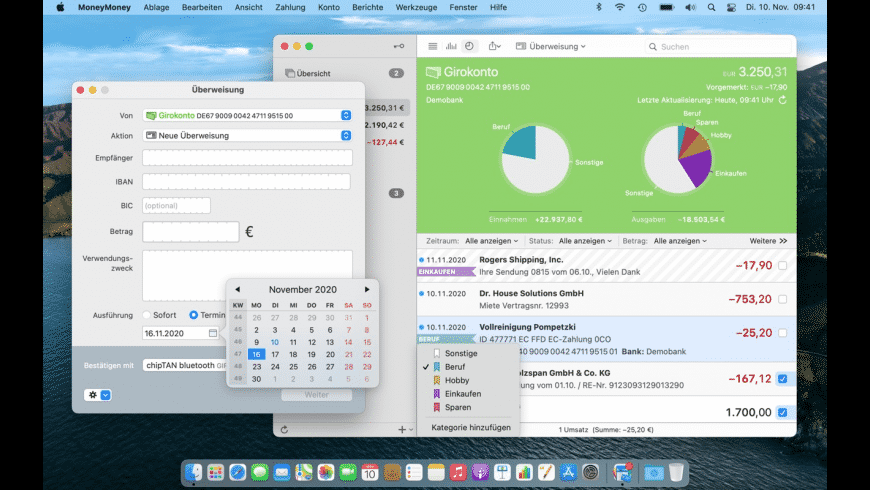 MoneyMoney for Mac - review, screenshots