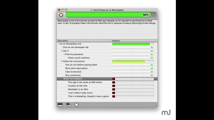 PowerUp for Mac - review, screenshots