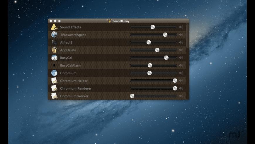 SoundBunny for Mac - review, screenshots