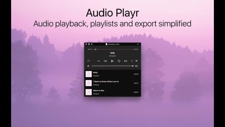 Audio Playr for Mac - review, screenshots