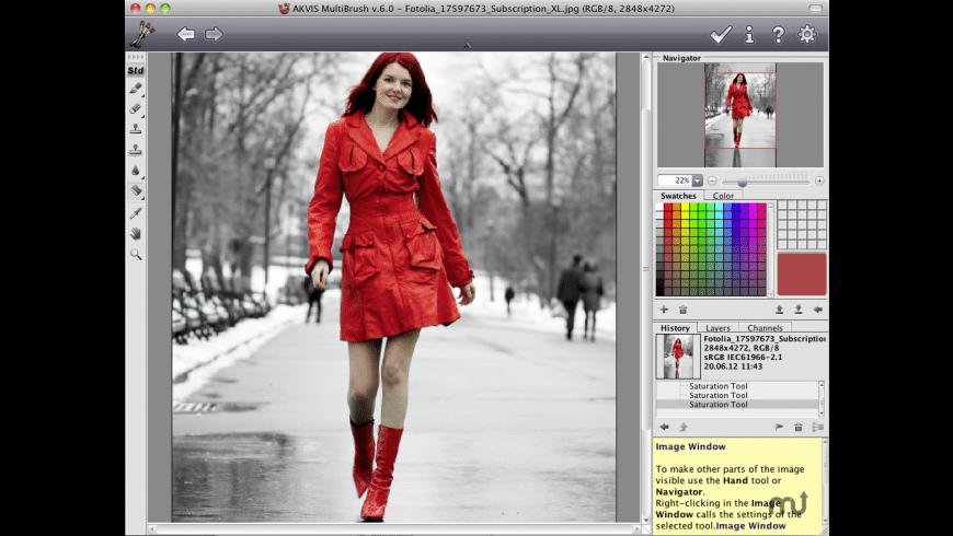 AKVIS MultiBrush for Mac - review, screenshots