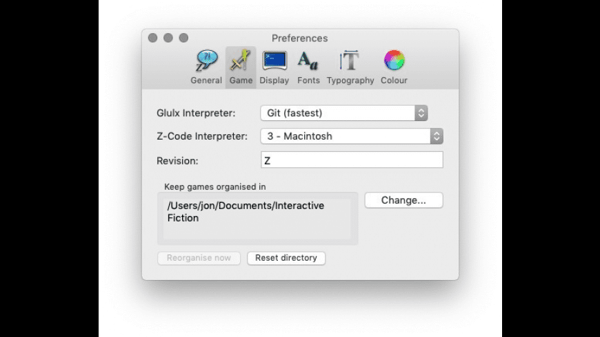 Z-Machine Interpreter for Mac - review, screenshots