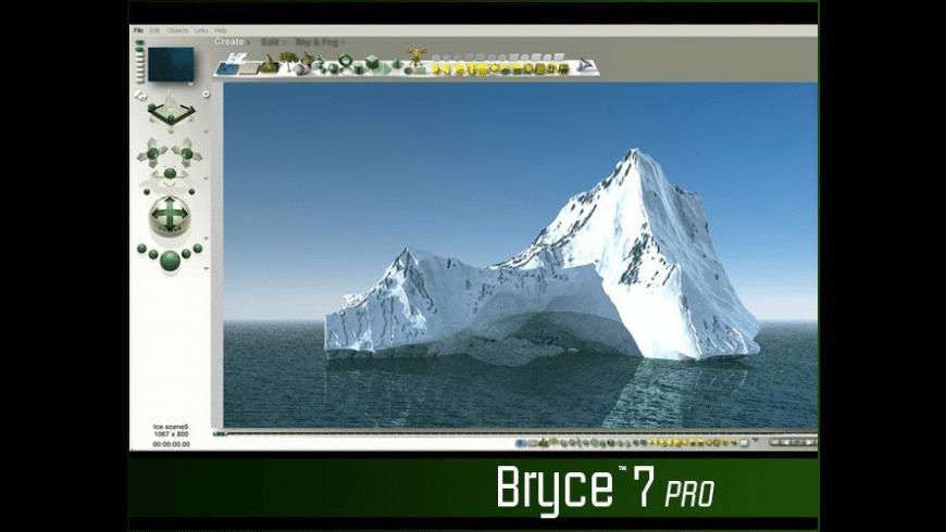 Bryce for Mac - review, screenshots