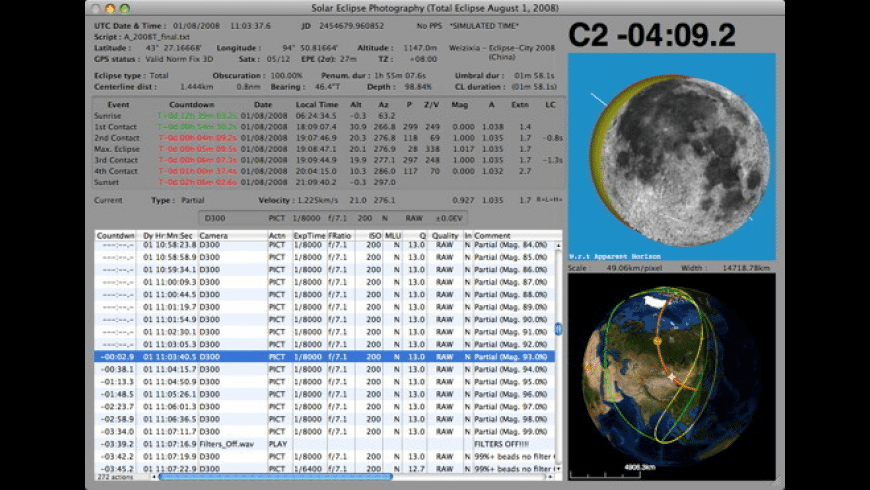 Solar Eclipse Maestro for Mac - review, screenshots