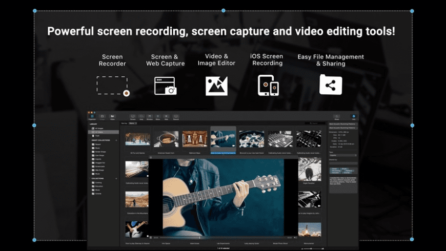 Capto for Mac - review, screenshots