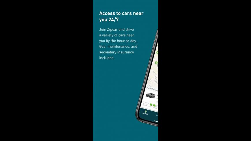 Zipcar for Mac - review, screenshots