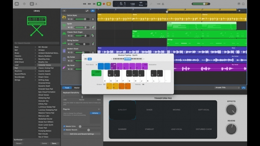 GarageBand for Mac - review, screenshots