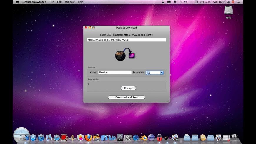 DesktopDownload for Mac - review, screenshots