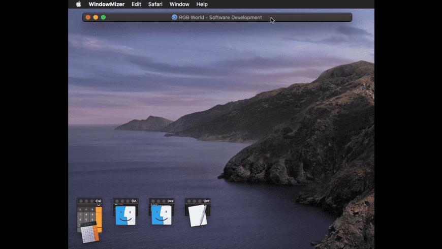WindowMizer for Mac - review, screenshots