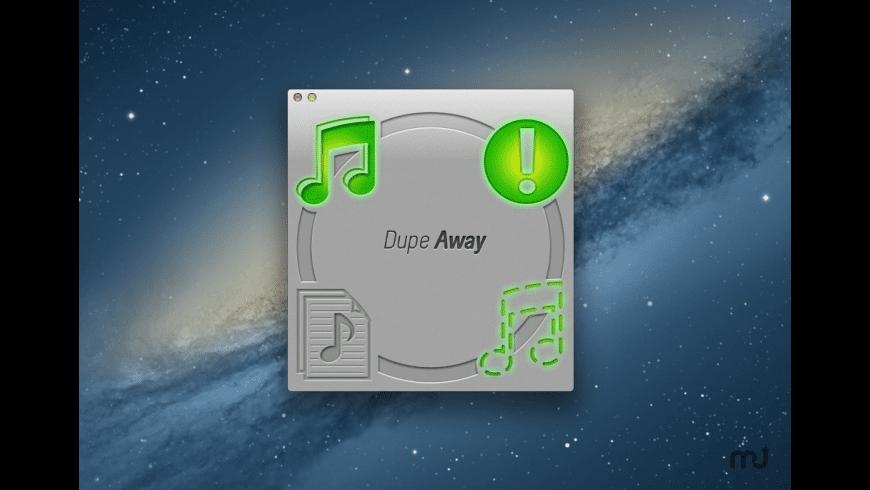 Dupe Away for Mac - review, screenshots