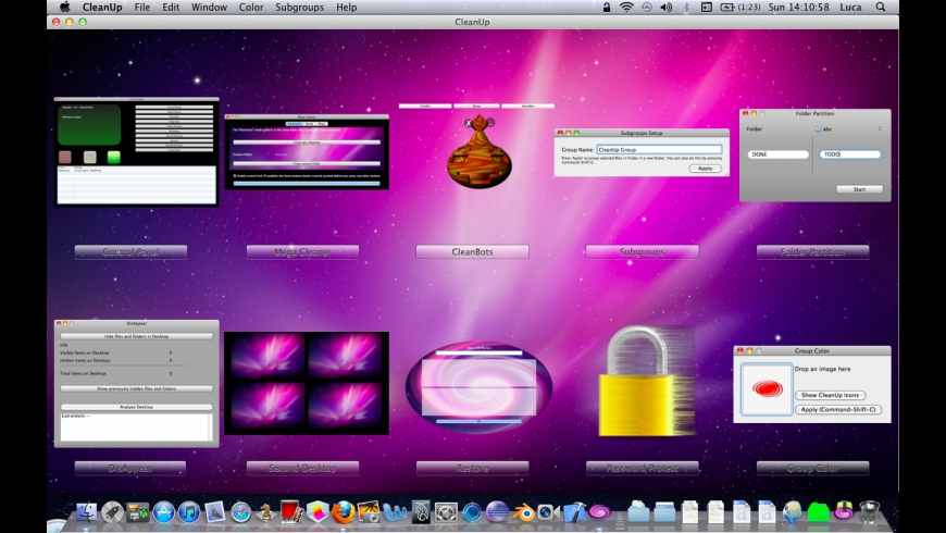 CleanUp for Mac - review, screenshots