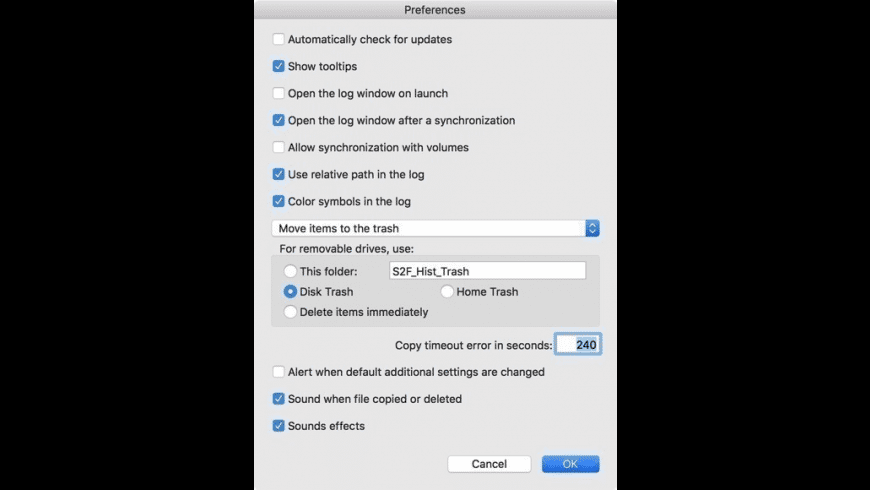 SyncTwoFolders for Mac - review, screenshots