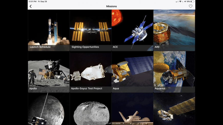 NASA for Mac - review, screenshots