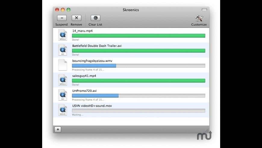 Skreenics for Mac - review, screenshots