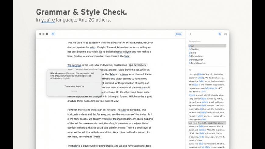Ulysses for Mac - review, screenshots