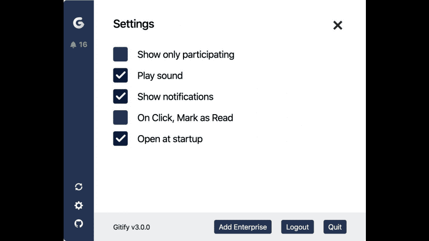 Gitify for Mac - review, screenshots