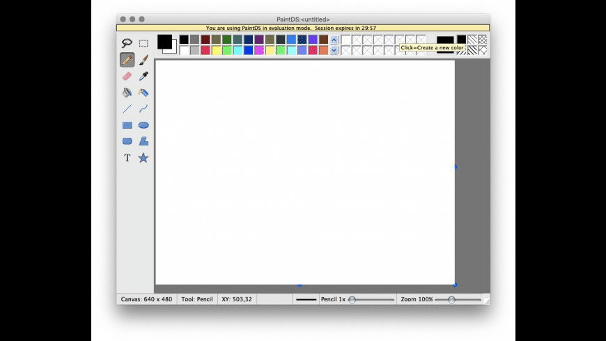 PaintDS for Mac - review, screenshots