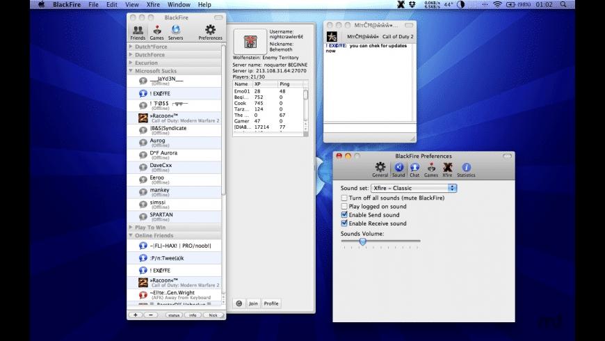 BlackFire for Mac - review, screenshots