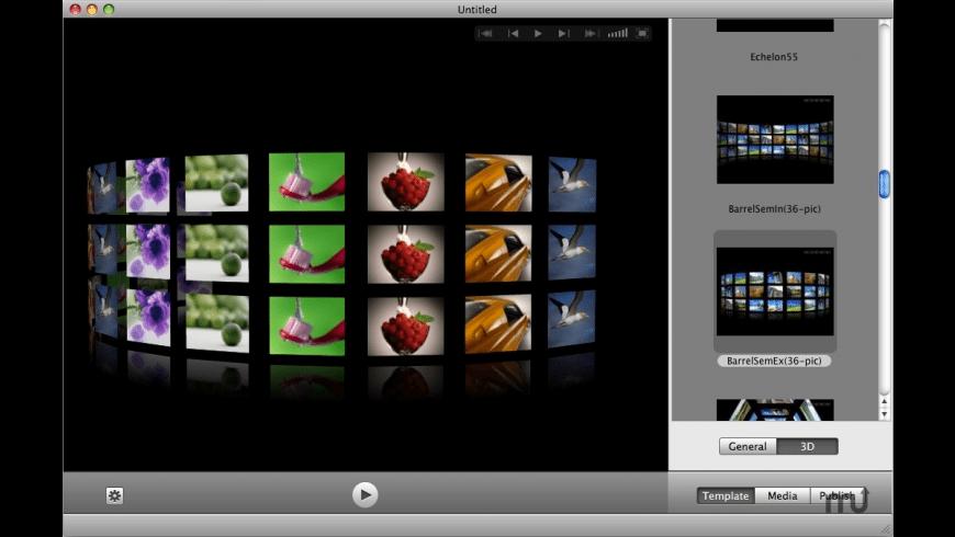 Wondershare Web Gallery for Mac - review, screenshots