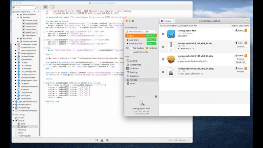 App Wrapper for Mac - review, screenshots