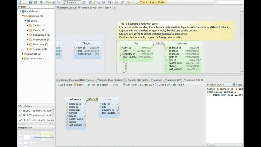 DbSchema for Mac - review, screenshots