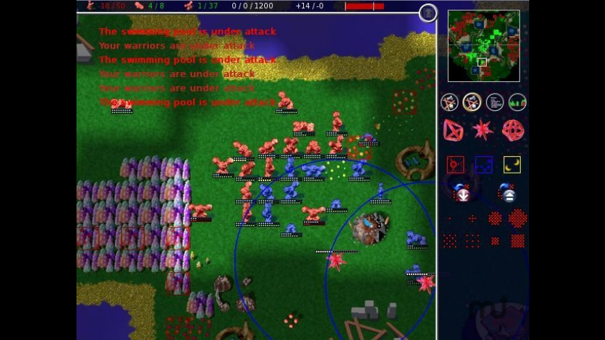 Globulation2 for Mac - review, screenshots