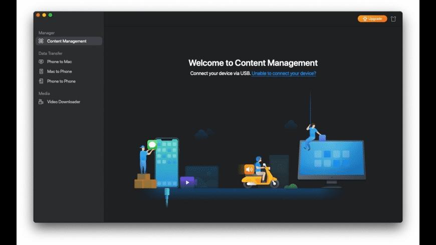 EaseUS MobiMover for Mac - review, screenshots