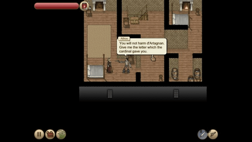 Three Musketeers - Milady's Revenge for Mac - review, screenshots