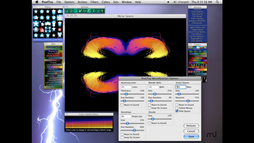 PixelToy for Mac - review, screenshots